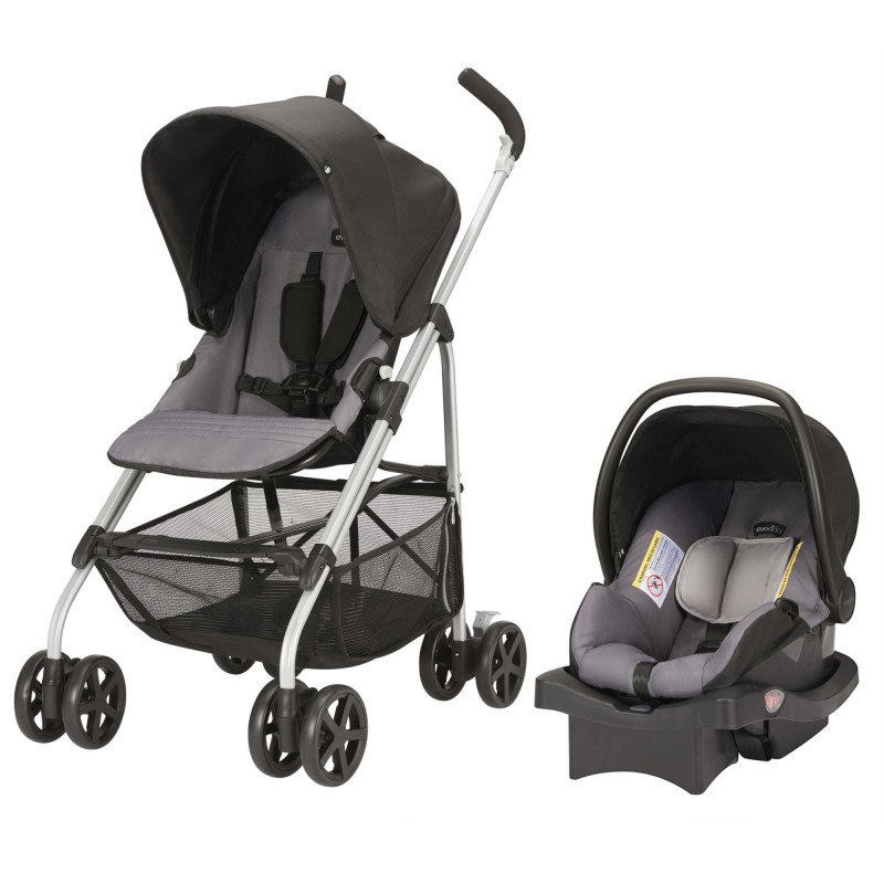 Evenflo® Round Trip™ Travel System in Glenbarr Grey