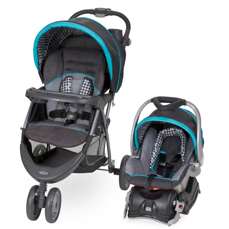 Baby Trend® EZ Ride 5 Travel System in Hounds Tooth