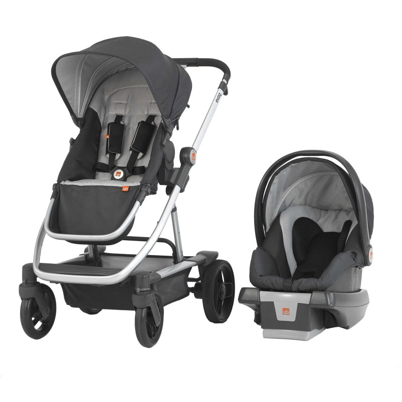 gb EvoQ Travel System in Charcoal