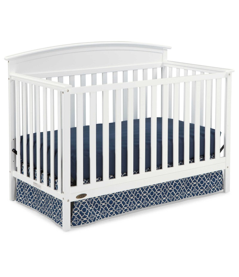 Graco® Benton 5-in-1 Convertible Crib in White