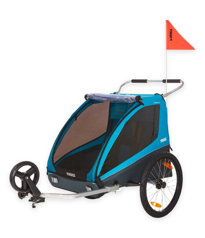 Thule® Kids Coaster XT Bike Trailer in Blue
