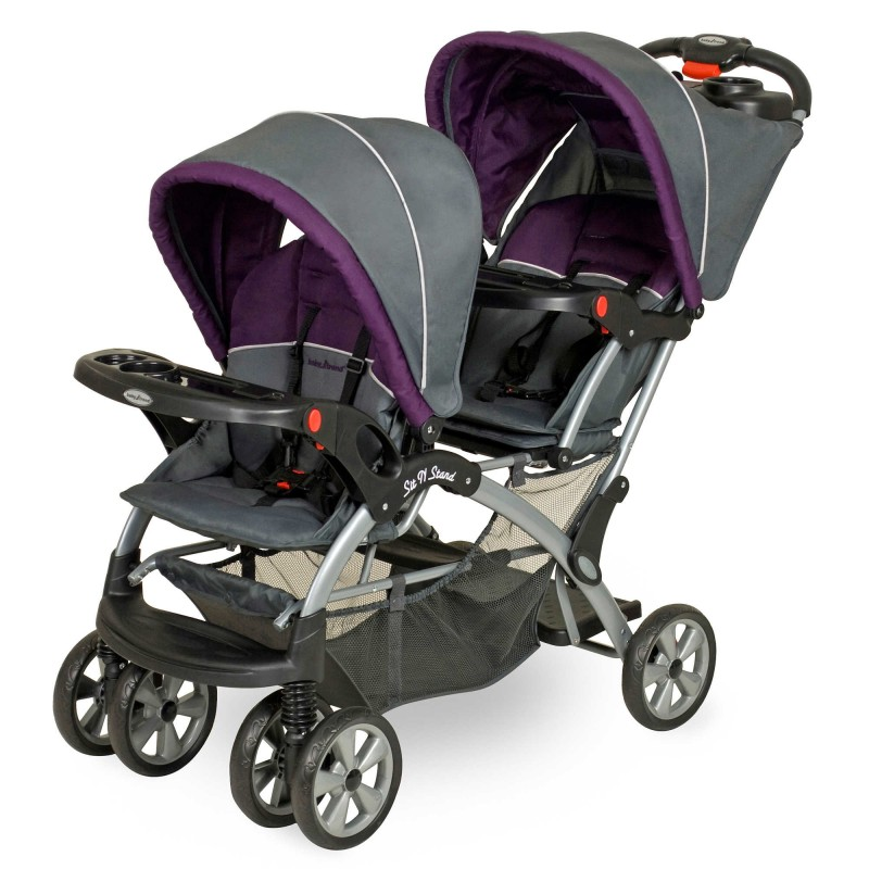 Baby Trend Sit N' Stand Double Stroller in Elixer