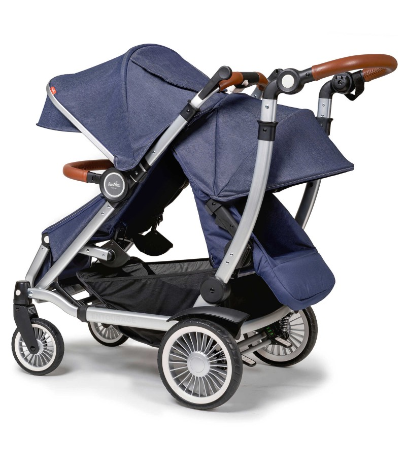Austlen Entourage Double Stroller With Second Seat