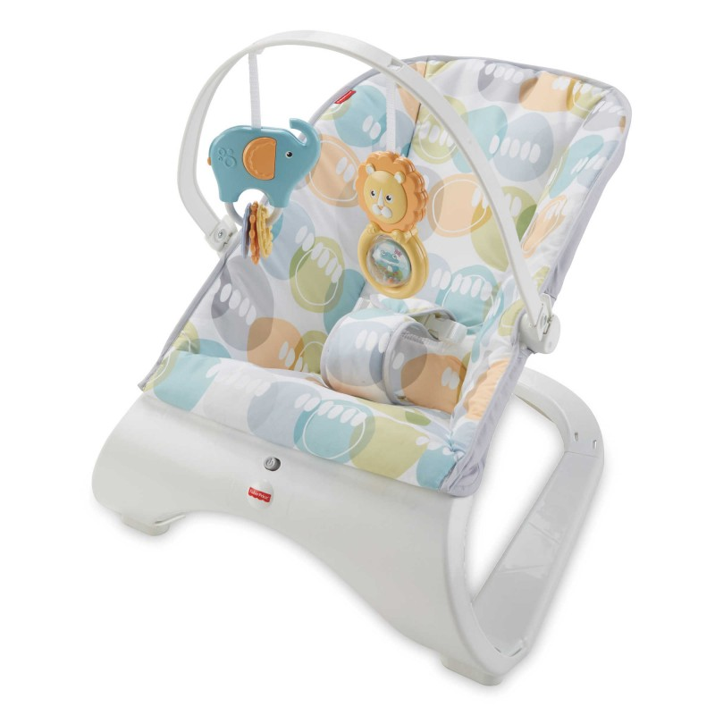 Fisher-Price® Comfort Curve™ Bouncer in City Pebble