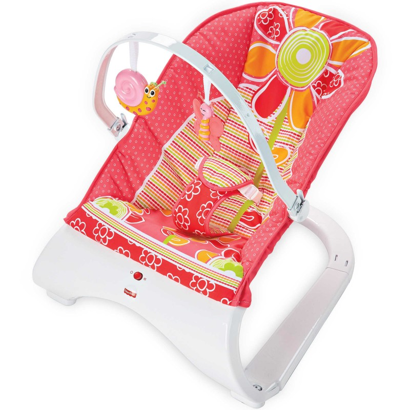 Fisher-Price® Comfort Curve™ Bouncer in Floral Confetti