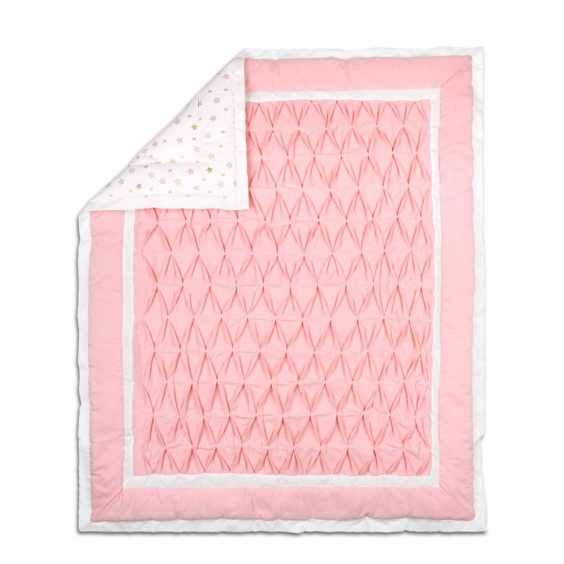 The Peanut Shell® Quilt/Coverlet in Light Coral
