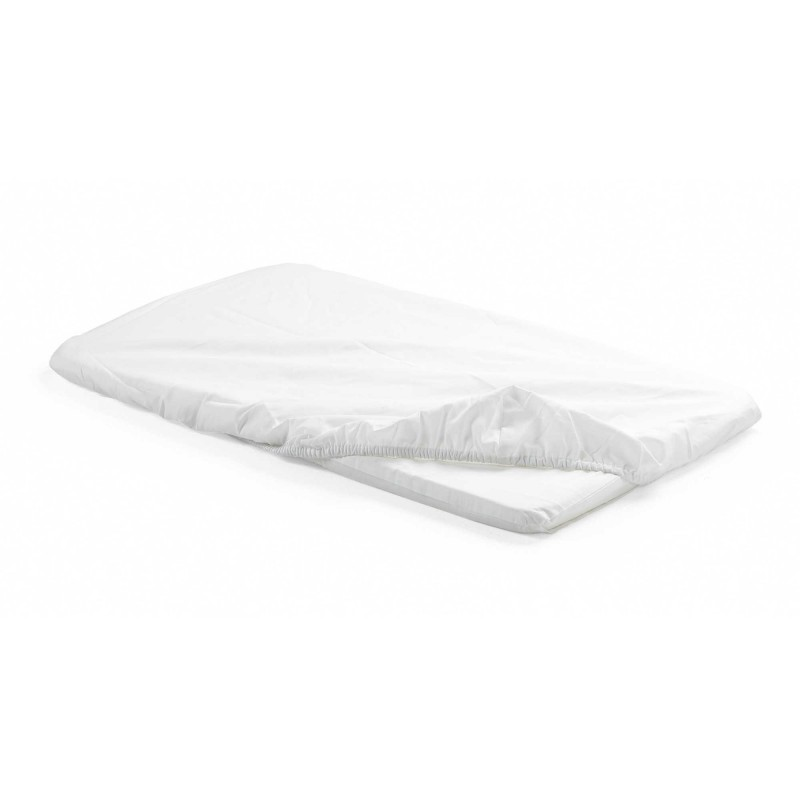 Stokke® Home™ 2-Piece Cradle Fitted Sheet Set in White