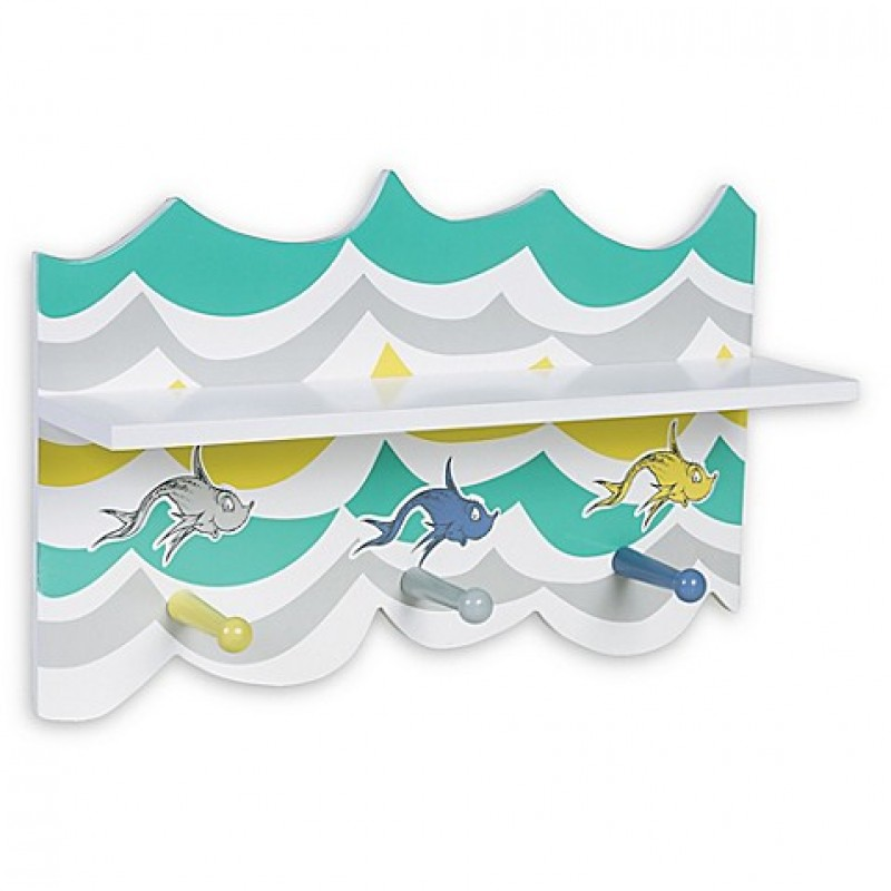 Trend Lab® Dr. Seuss™ New Fish Wall Shelf