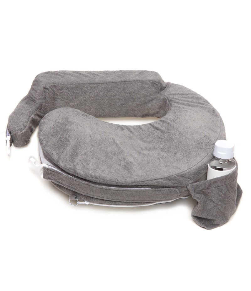 My Brest Friend® Deluxe Nursing Pillow in Evening Grey