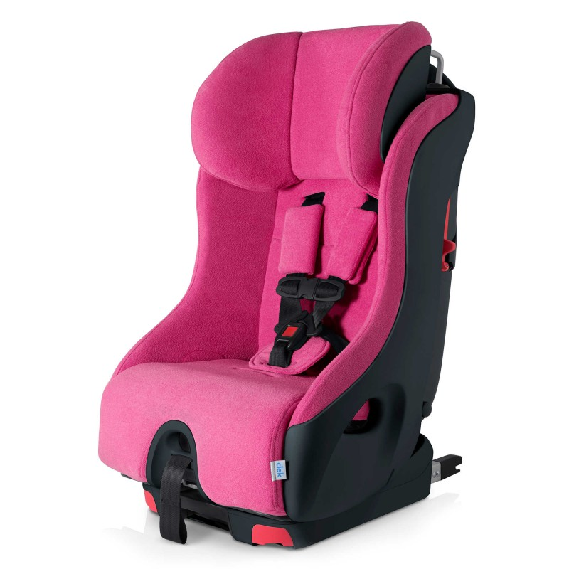 Clek Foonf Convertible Car Seat in Pink Flamingo