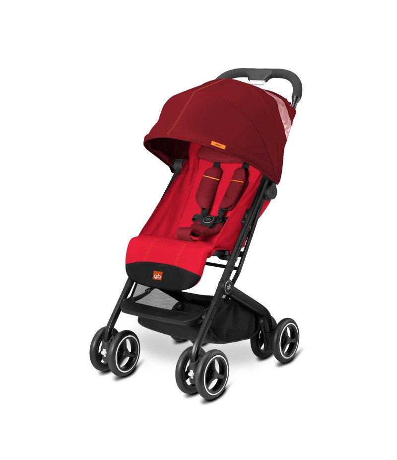 GB Qbit Plus Stroller in Dragonfire Red