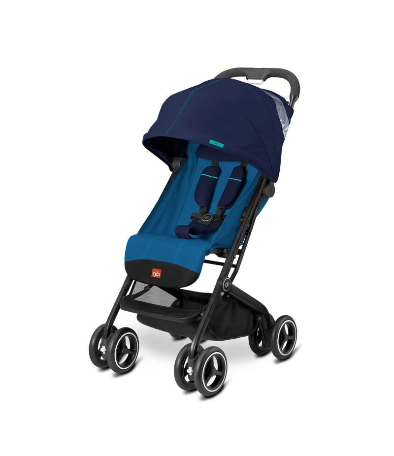 GB Qbit Plus Stroller in Sea Port Blue