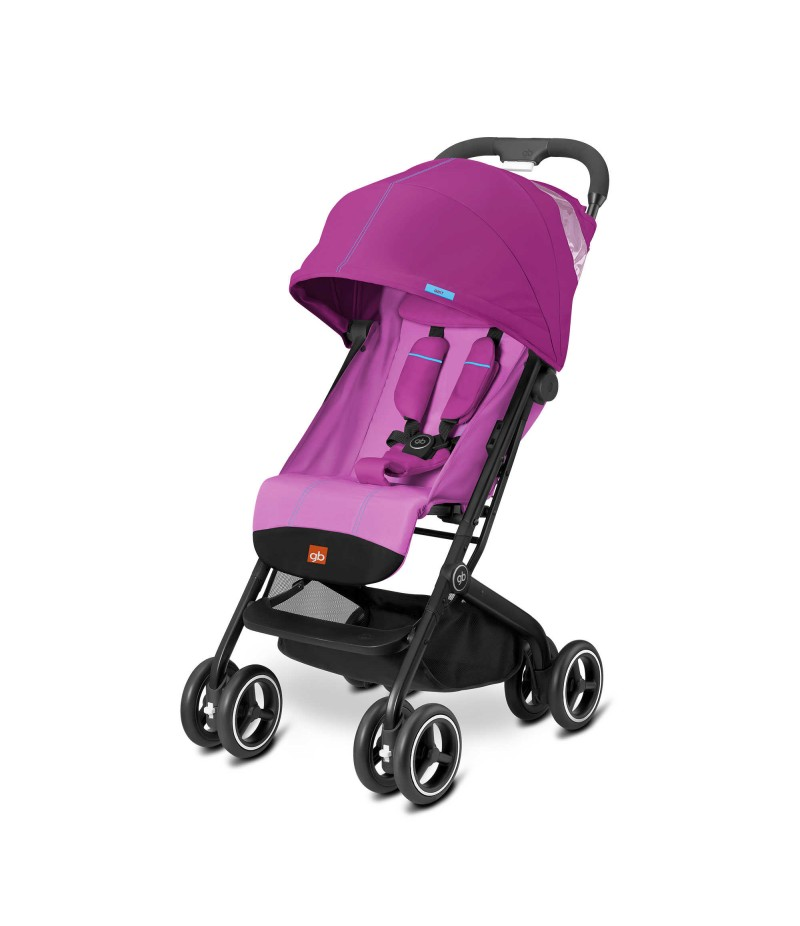 GB Qbit Plus Stroller in Posh Pink