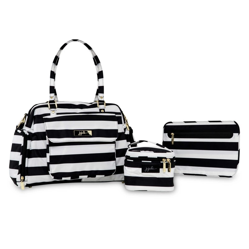 Ju-Ju-Be® Be Pumped in the First Lady Pump Bag in Black/White