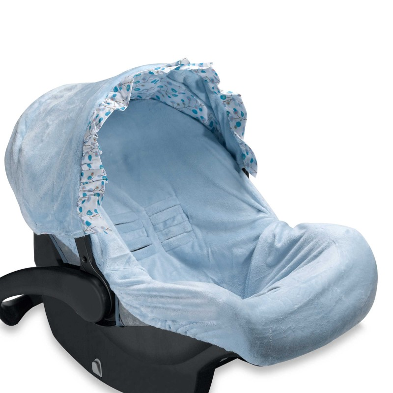 Caden Lane® Car Seat Cover in Blue Twig